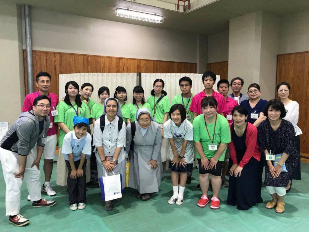 静岡サレジオ学園祭訪問