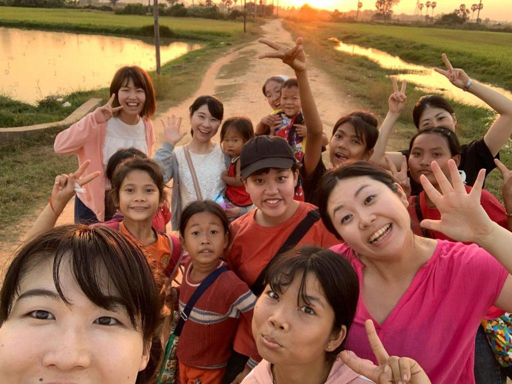 2019年12月、カンボジアボランティアの報告