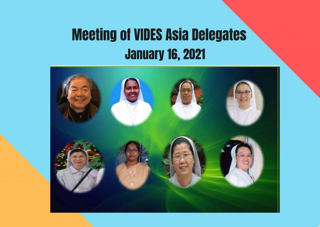 VIDES アジア支部の会議